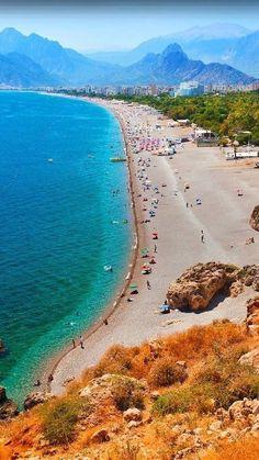 Antalya TURKEY Middle East Destinations, Turkey Destinations, Places Around The World, Travel Around The World, Around The Worlds, Hagia Sophia, Antalya, Wonderful Places, Beautiful Places