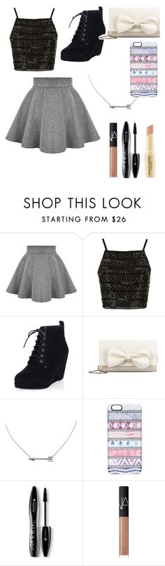 """Untitled #163"" by monkeygirl19 ❤ liked on Polyvore featuring Topshop, RED Valentino, Casetify, Lancôme, NARS Cosmetics, Napoleon Perdis, women's clothing, women, female and woman"