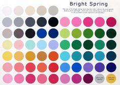 Barwy urody: Typy wiosny - intensywna (czysta) wiosna