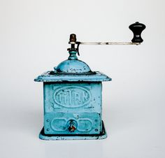 Chic Antique Coffee Grinder / Coffee Mill / Made in Yugoslavia on Etsy, $64.75