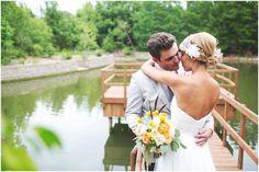 at Clark Garden's Lake Pavilion Photo Credit - ee photography Clark Gardens, Pavilion, Photo Credit, Park, Couple Photos, Couples, Wedding Dresses, Photography, Couple Shots