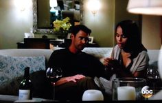 the real scandal: olivia pope drinks fake wine