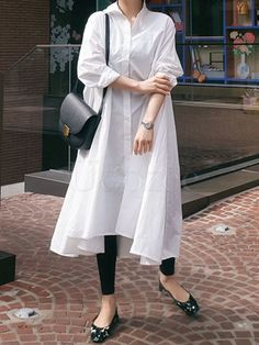 Casual Cropped Long Shirt Dress – oshoplive Source by Outfits comfortable Pakistani Fashion Casual, Pakistani Dresses Casual, Pakistani Dress Design, Muslim Fashion, Long Shirt Outfits, Long Shirt Dress, Dress Outfits, Casual Outfits, Maxi Dresses