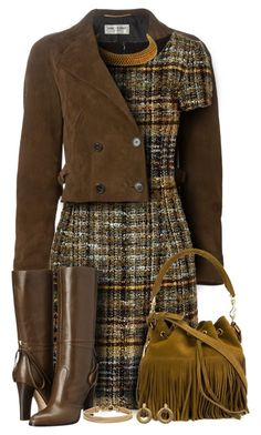Saint Laurent Cropped Peacoat Outfit by helenehrenhofer on Polyvore featuring…