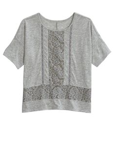 Lace Boxy Top | Girls Clothes New Arrivals | Shop Justice