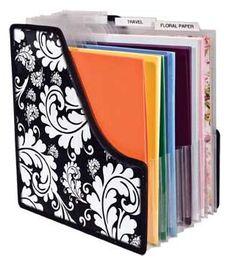 Advantus - Cropper Hopper - Projections - 12 x 12 Paper Holder at Scrapbook.com $17.99