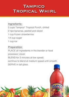 Tampico Tropical Whirl™ recipe