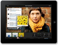 TouchCast: An Exciting New iPad Tool to Create Wildly Interactive Videos Technology Tools, Technology Integration, Instructional Technology, Educational Technology, Insert Image, Ios, Interactive Map, New Ipad, New Media