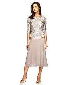 Beautiful outfit for the Mother-of-the-Bride. Neutral silk beaded ...