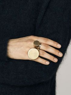 jewels bymalenebirger minimalist minimalist jewelry gold ring copper geometric statement ring