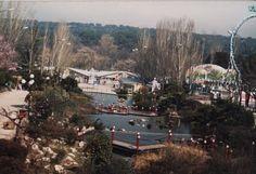 Panorámica de parte del Parque de Atracciones de Madrid