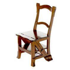 Dekoria,+Krzesło-drabinka+44x48x85cm