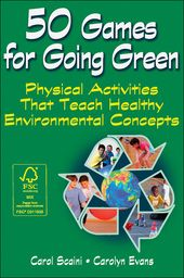 Activate your students' interest in environmental issues with these fun physical activities! With 50 Games for Going Green: Physical Activities That Teach Healthy Environmental Concepts, teachers and youth leaders will find easy-to-present games and activities to inspire and educate students about caring for the environment.