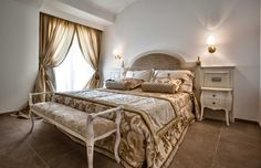Imperial Suite Grand Hotel Ma&Ma: a few steps from the hotel, especially designed and created to provide exclusive comfort to families. Placed on the ground floor and first floor with large terrace, private entrance, large living room with sofa bed, two bedrooms with double bed. Polished and elegant, refined in detail with the highest quality materials, such as Cerasarda and Sardinian Granite.