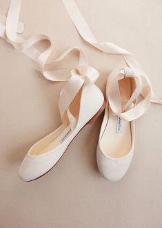 a332a6d42f35 The Bridal Bolshoy Beige Rose Ballet Shoes