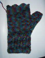 Adventures in Crochet (and spinning...): Fingerless Mitts - Crochet Pattern