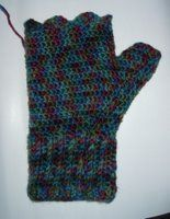 Adventures in Crochet (and spinning...): Fingerless Mitts - Crochet Pattern
