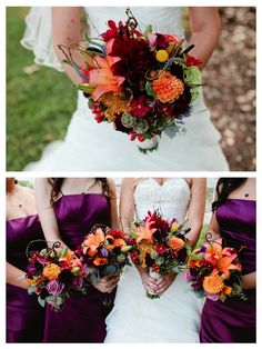 fall wedding | elevated pulse wedding dj and lighting