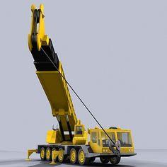 Crane Industrial 3D Model - 3D Model