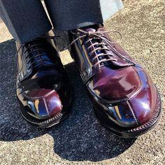 Alden Alden Cordovan, Cordovan Shoes, Men's Shoes, Shoe Boots, Dress Shoes, Fashion Shoes, Mens Fashion, Shoe Game, Combat Boots