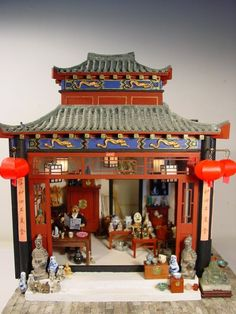 Chinese antique store 1:20