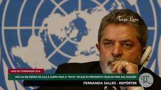 #FernandaSalles - ONU sai em defesa de Lula A ONU SÓ PODE TÁ DE SACANAGEM! COM ESSA DECLARAÇÃO A ONU SE DECLARA UMA ORGANIZAÇÃO A FAVOR DO CRIME. DAVA PRA NOTAR QUE A ONU NÃO AGE EM FAVOR DO BEM. ESSA ONU É UMA PROMISCUIDADE.