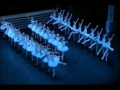 """Best formations I've ever seen."" Swan Lake choreography by R. Nureyev, Paris Ballet 2005 STUNNNIG"