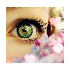 Taking life one word at a time ♥ღk ❤ liked on Polyvore featuring eyes