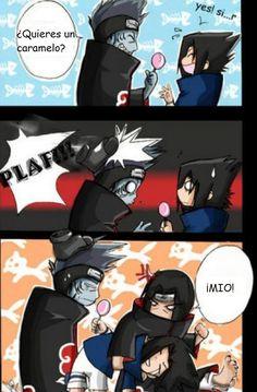 Nadie toca a MI Sasuke
