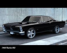 1965 Pontiac GTO.  Is there a more beautiful car?