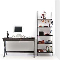 Clarke Desk & Ladder Shelf Study Set