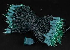 Novelty Lights 100 Light Green Christmas Mini Light Set Green Wire 50 Long *** See this great product.