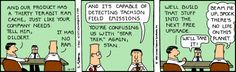 DILBERT as a Sales Engineer on a Sales Call
