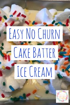 Have fun with the kids this summer and make this delicious homemade ice cream. It's super easy with a few supplies and the kids can help. Perfect for a hot summer day- the hardiest part is waiting for it to harden in the freezer. #IceCream #IceCreamRecipe #NoChurn #Recipe #RecipeforKids #Homemade