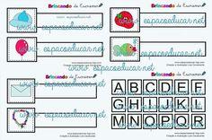 Kit Educativo Brincando de Escrever: jogo educativo de alfabetização para aprender as letras e escrever brincando! - ESPAÇO EDUCAR
