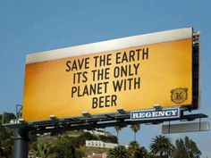 #beer #save #earth