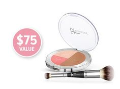 Vitality Face Brightening Disc and Heavenly Luxe Complexion Perfection Brush