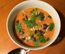 Rezept Fruchtige Curry-Kokos-Suppe von felidae177 - Rezept der Kategorie Suppen