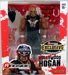 LOT OF 3 WWE HULK HOGAN Ringside Collectibles Exclusive Wrestling Figures NEW