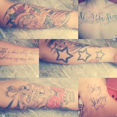 my tattoos