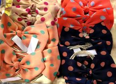Bows on bows with a splash of polka dots
