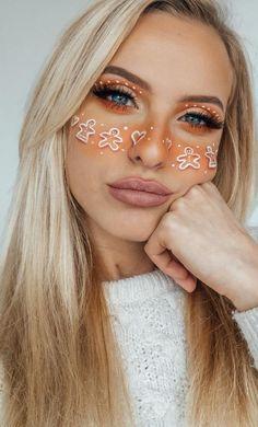47 Easy Eyeshow Images, Apply Eyeshadow Ideas and Beauty Images ! Part apply eyeshadow for beginners; apply eyeshadow to hooded eyes; apply eyeshadow step by step Makeup Eye Looks, Eye Makeup Art, Cute Makeup, Eyeshadow Looks, Beauty Makeup, Hair Makeup, Eyeshadow Ideas, Christmas Makeup Look, Creative Makeup Looks