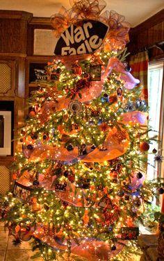 Auburn Christmas Tree