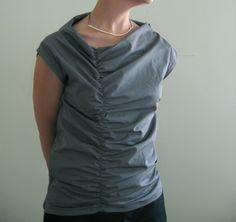 gathered line tunic | Flickr - Photo Sharing!