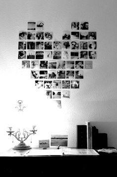 Photos in heart shape