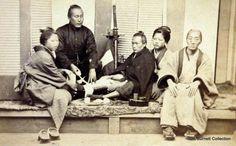 "Shimooka, Renjo c.1865-70 ""Doctor Caring for Samurai"""