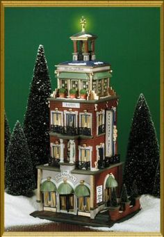 Paramount Hotel NEW Department Dept. 56 Christmas In The City Village CIC