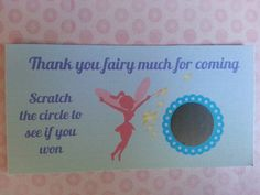 20 Fairy Scratch Off Tickets by msmemories101 on Etsy