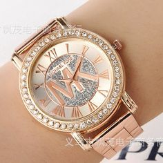 Venda quente reloj mujer 2015 Marcas Famosas senhoras marca de moda Causal  de pulso de quartzo mulheres rosa de ouro vestido relógios por atacado em  ... 6d97361eee