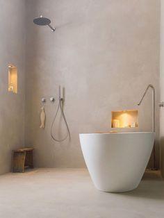 Unique Tadelakt Bathroom Design Ideas For Awesome Bathroom 43291